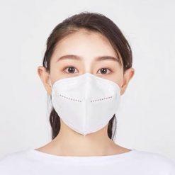 Respirační rouška - respirátor KN95 - ochrana FFP2 2