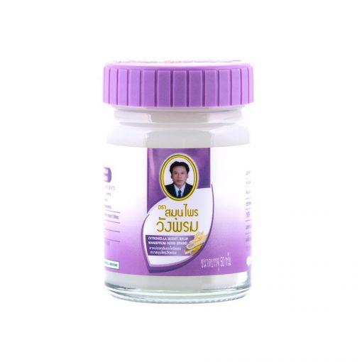 Thajský bylinný fialový balzám Wangphrom